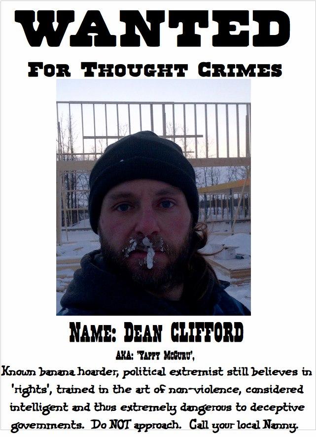 dean_wanted_Political_Prisoner