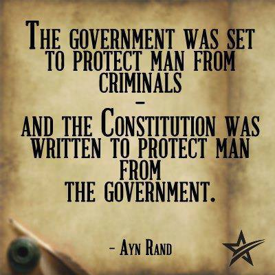 govt was to protect man