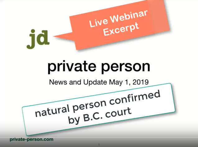 "BC Courts Recognize ""British Columbia resident natural persons"""