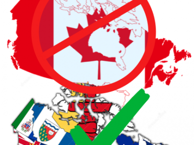 Separation? Or Just Reclaim Authority…Fly the Provincial Flag