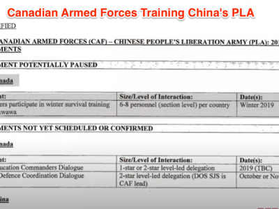 SECRET MILITARY DOCUMENTS: Trudeau invited Chinese troops to train at Canadian military bases