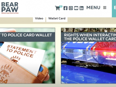 New downloadable 'statement to police' cards